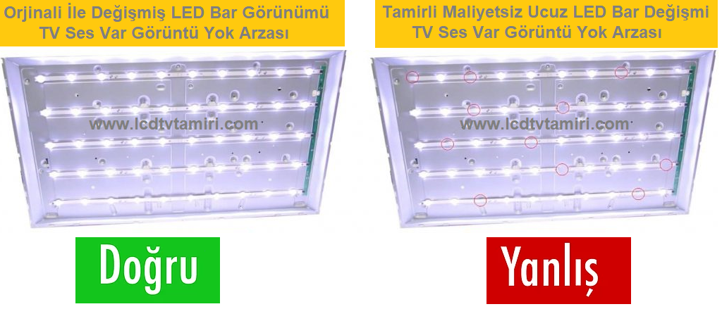 LCD Televizyon Tamircisi 0216 390 80 80